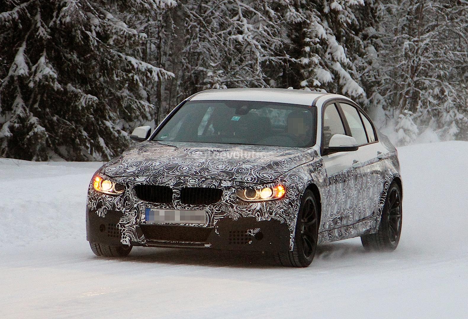 F80 BMW M3 spied
