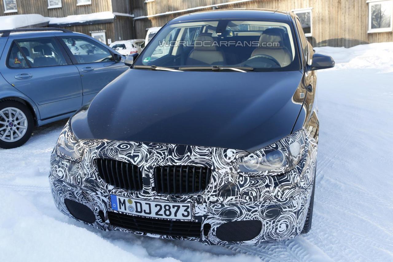 2014 BMW 5 Series GT spied