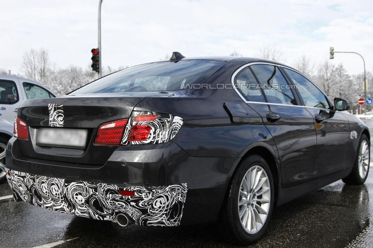 2014 BMW 5 Series Spied