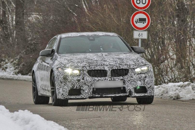 F82 BMW M4 Spied