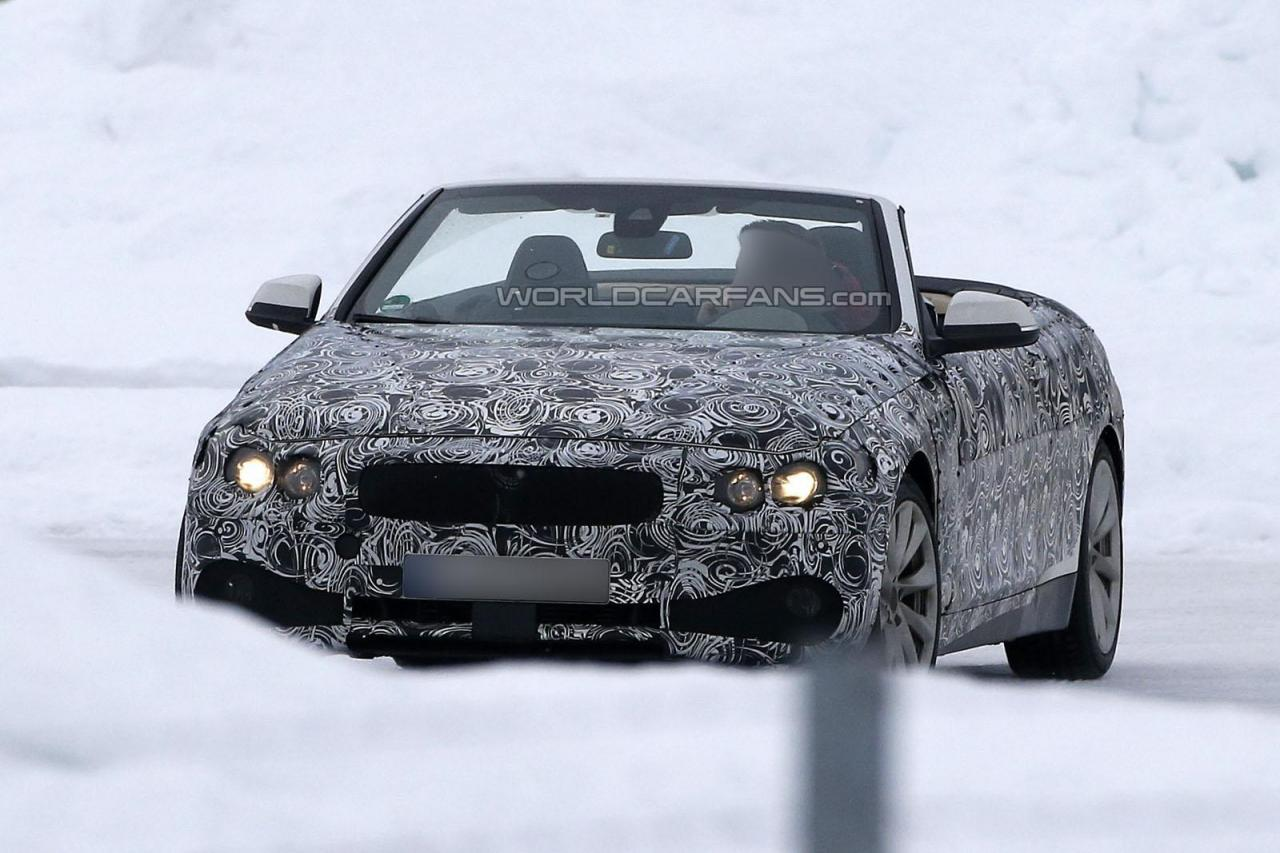 2014 BMW 4 Series Convertible Spy