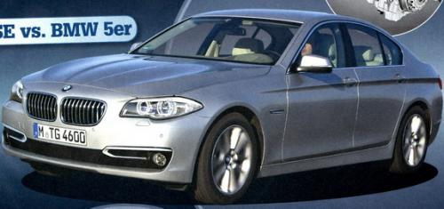 The new face of 2014 BMW 5-series
