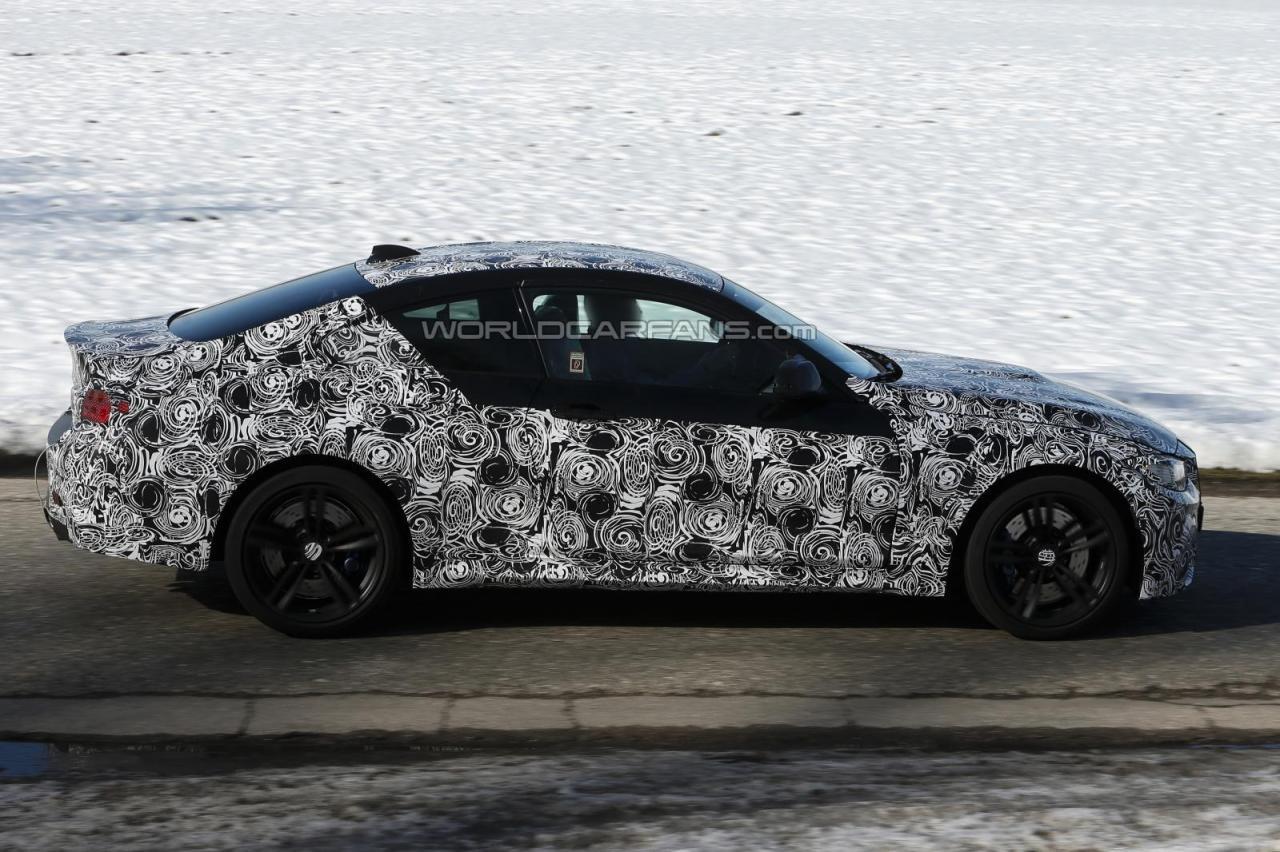 2014 BMW M4 Spy