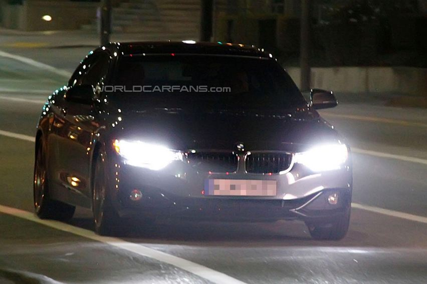 BMW 4-Series F32 reveals shapes