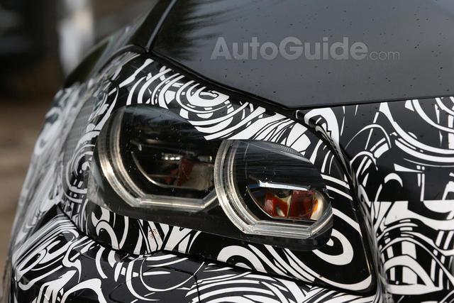 2014 BMW M5 spied