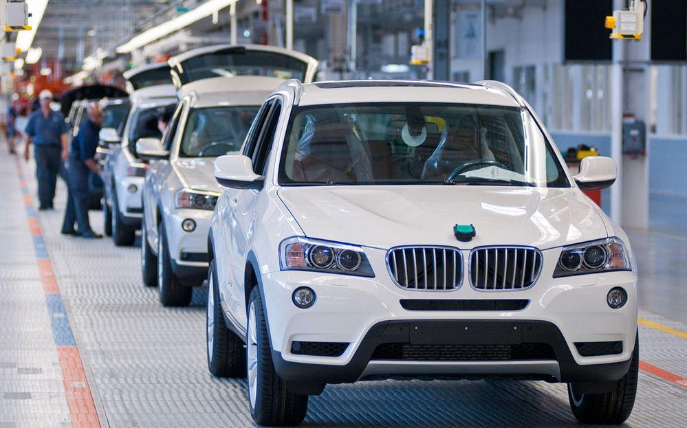 BMW Assembly Line