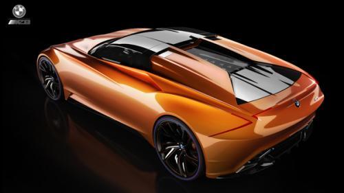 BMW MZ8 rendering