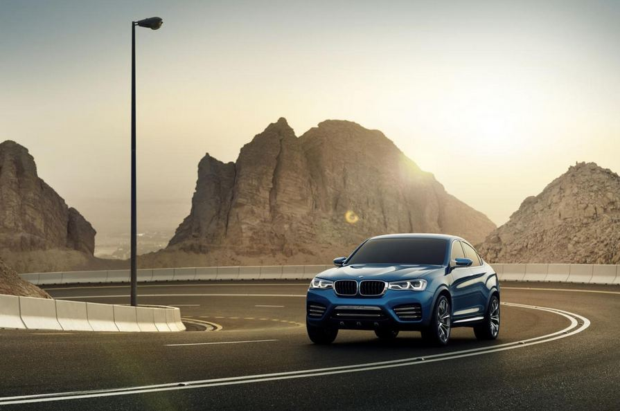 New photos of the BMW X4 released