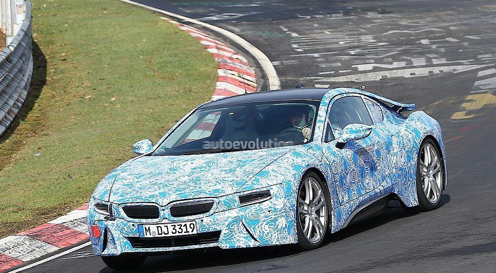 BMW i8 spied at Nurburgring