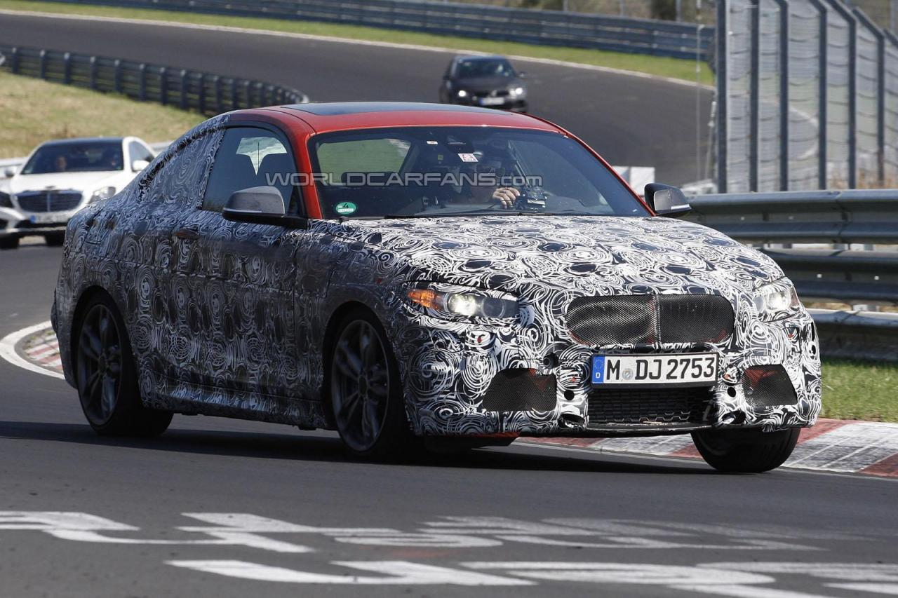 2014 BMW 2 Series Coupe spied