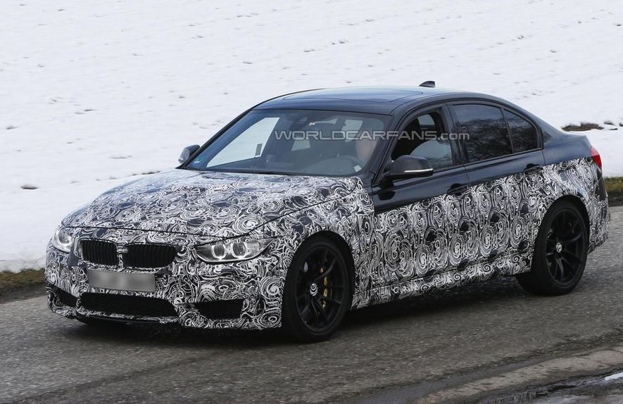 The 2014 BMW M3 will be lighter and more powerful