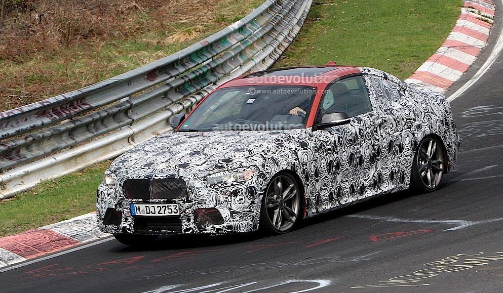 BMW M235i Spy Shot
