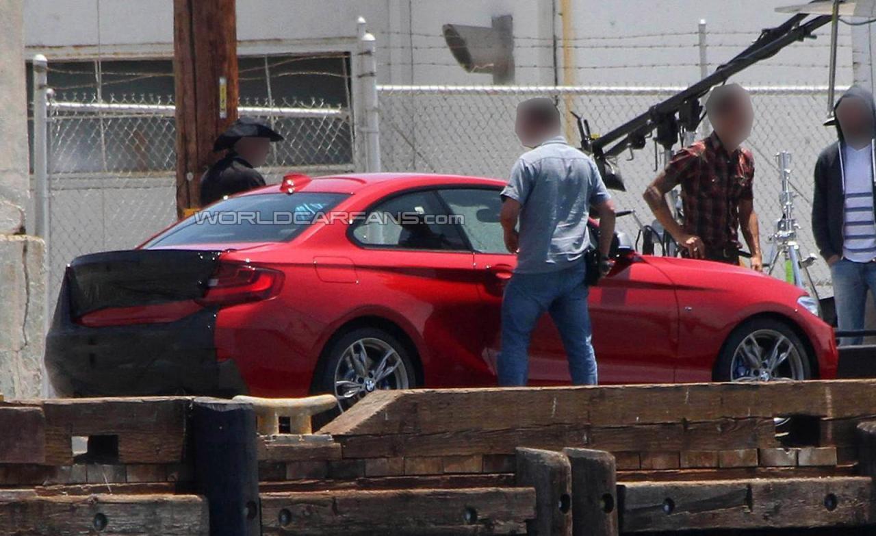BMW M235i spied