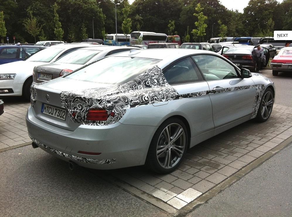 2014 BMW 4 Series Coupe Spy