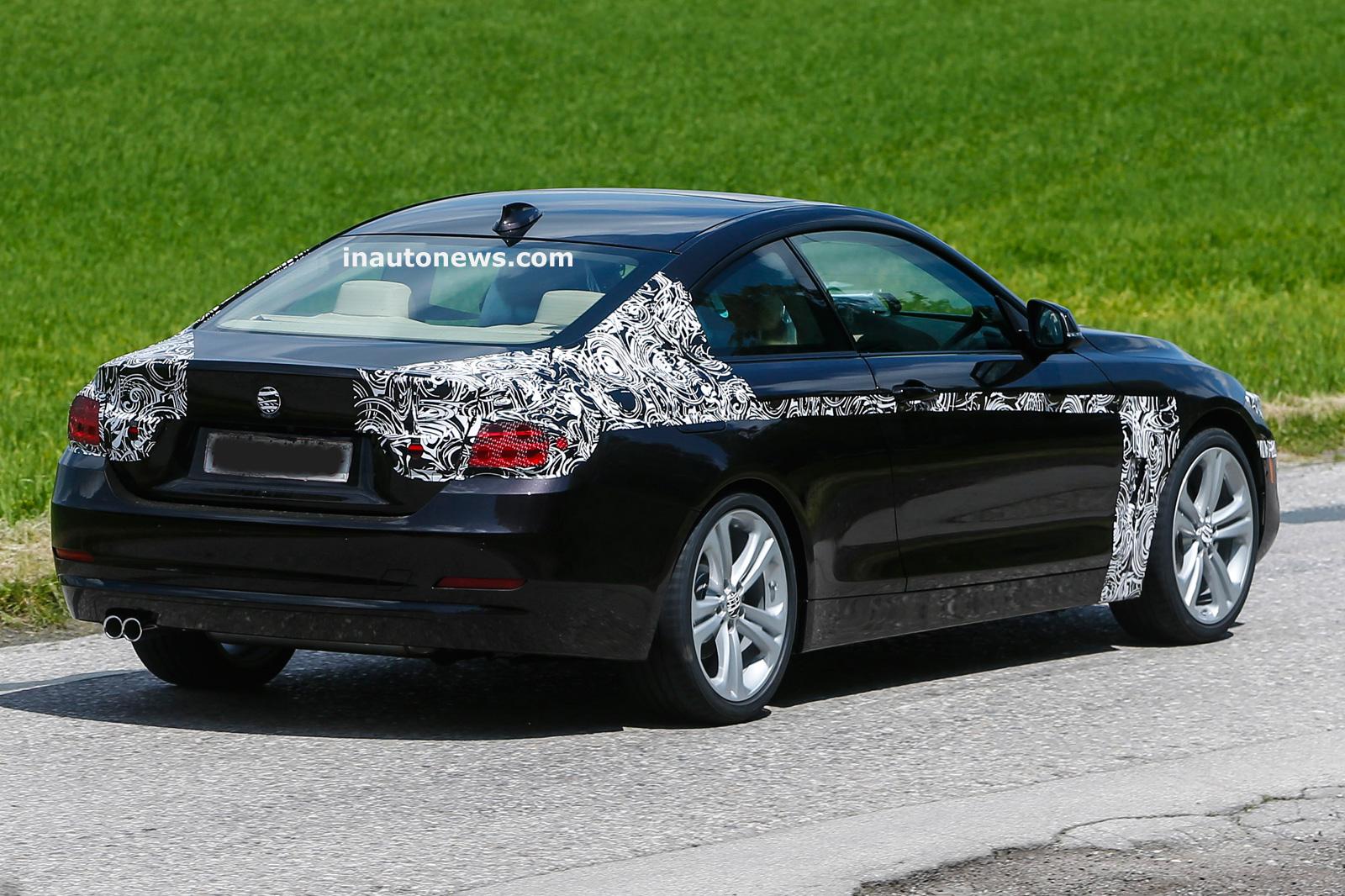BMW 4 Series Spied