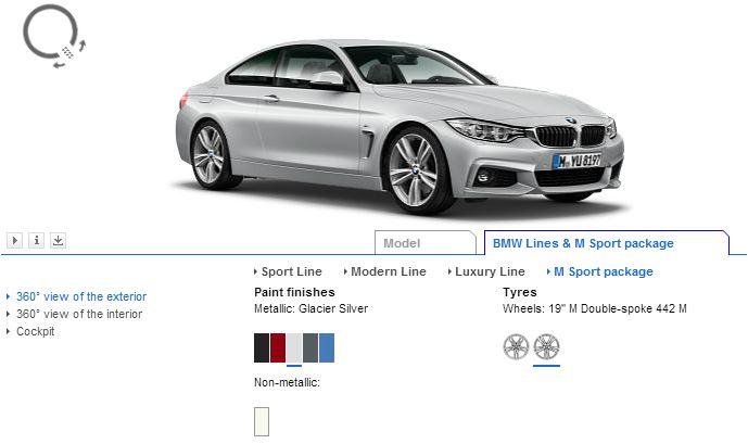 BMW 4 Series Visualizer