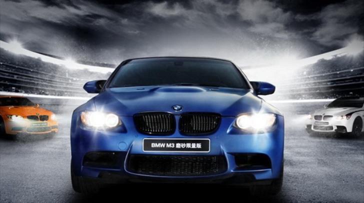BMW M3 Coupe Frozen Blue Edition