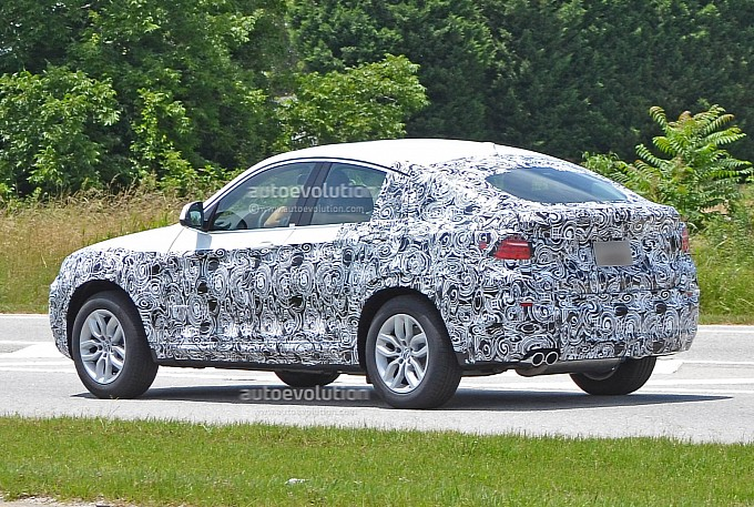 BMW X4 Spy Shot