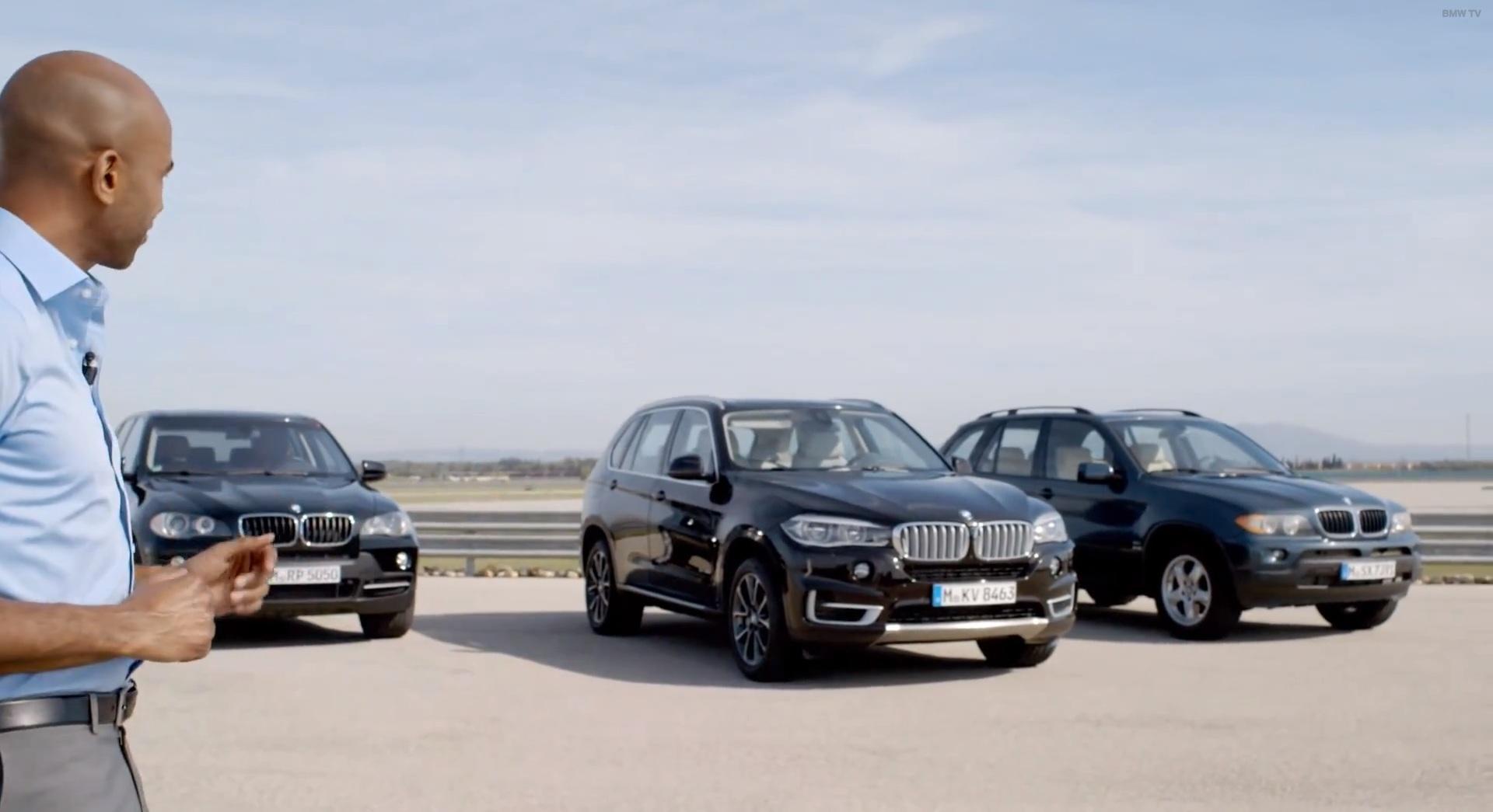BMW X5 lineup
