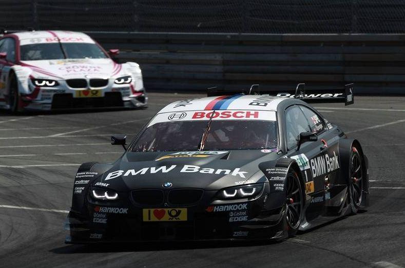 BMW pilots on top of Norisring DTM race