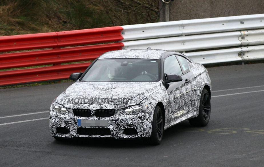 2014 BMW M4 Spied