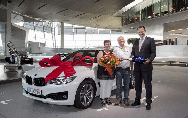 BMW Welt anniversary