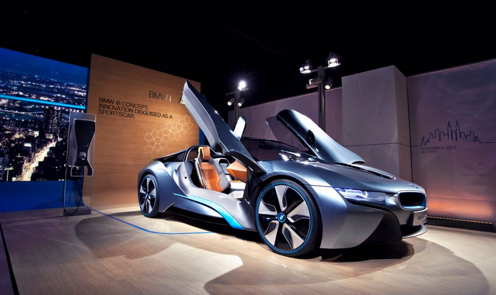 BMW i8 Roadster – Best Production Preview Vehicle for 2013 in America