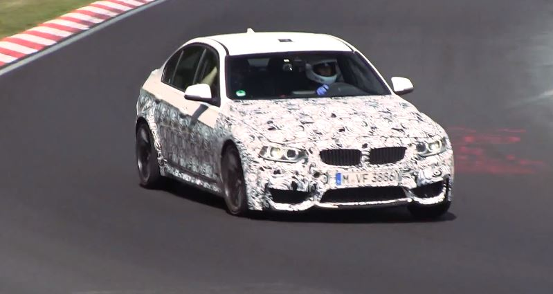 F80 BMW M3 test drive on the Nurburgring