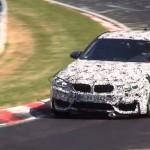 F80 BMW M3 on the Nurburgring