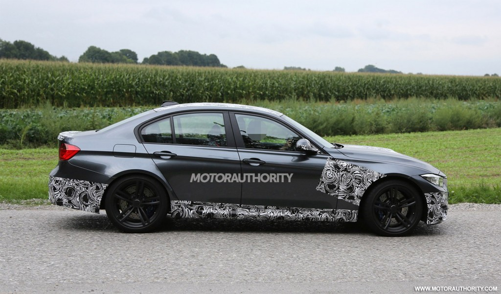 2014 BMW M3 spied