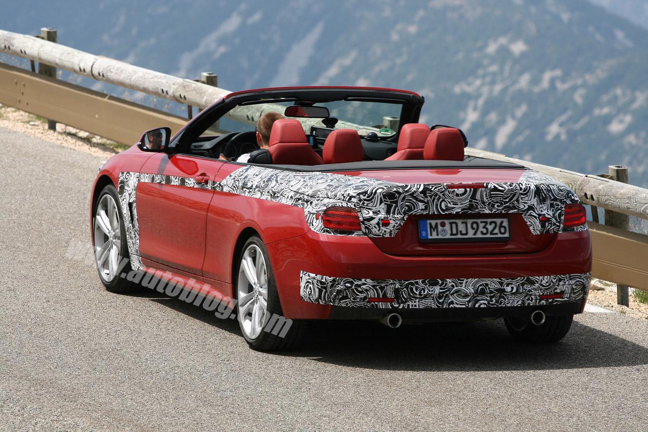BMW 4 Series M Sport Convertible spy