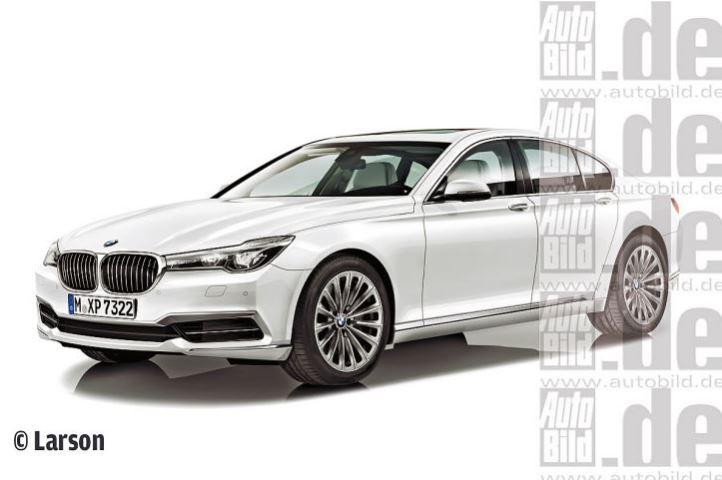BMW 7 Series Rendering