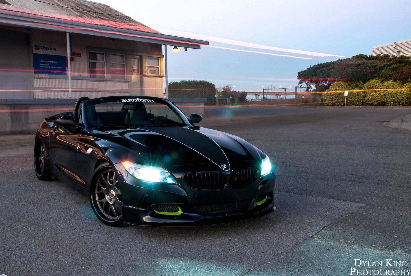 Putting BMW Z4 Project slingshot tuning under the spotlights