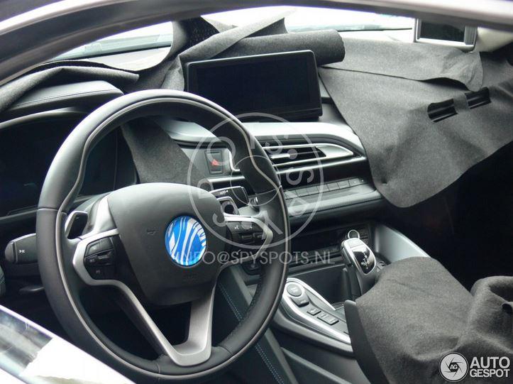 BMW i8 Inteior