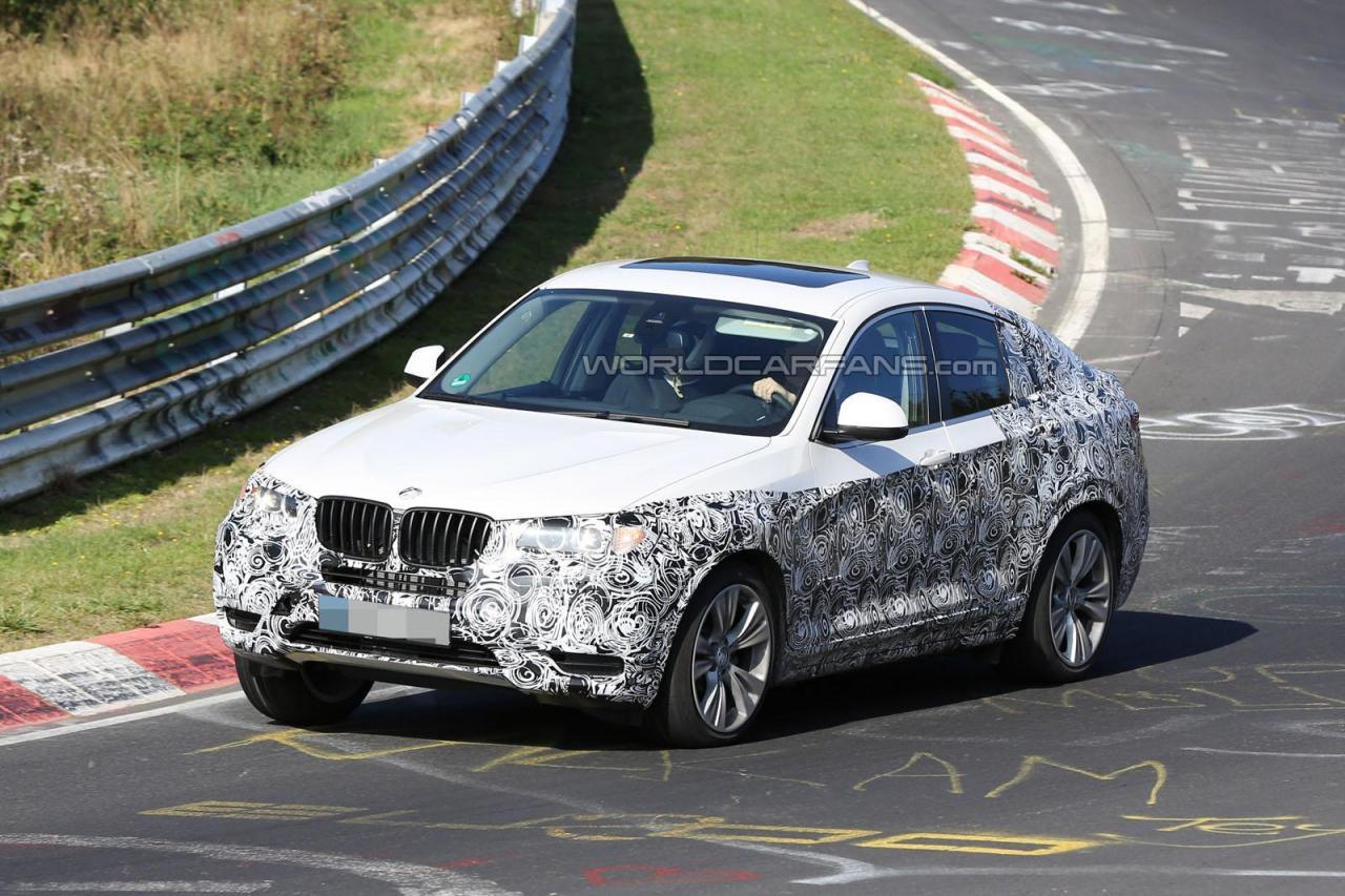 2014 BMW X4 spied