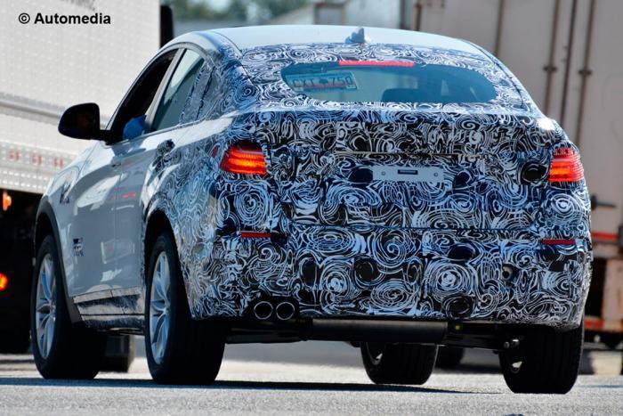 2014 BMW X4 spy