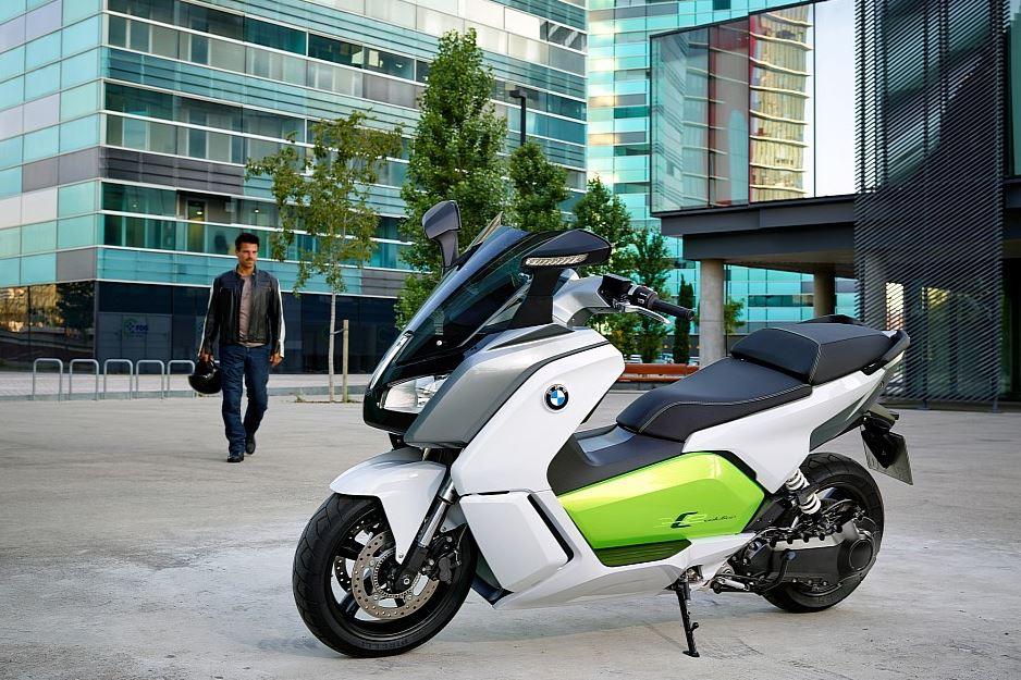 BMW's new C Evolution E-Scooter