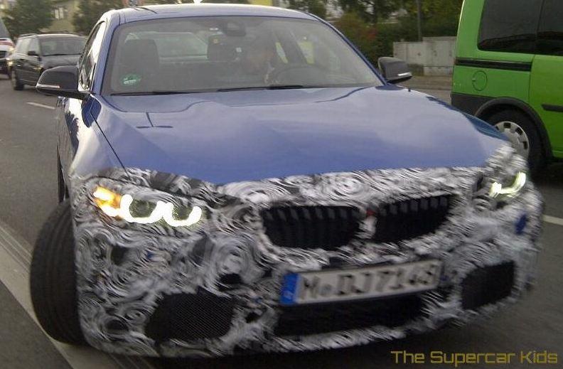 2014 BMW M235i spied