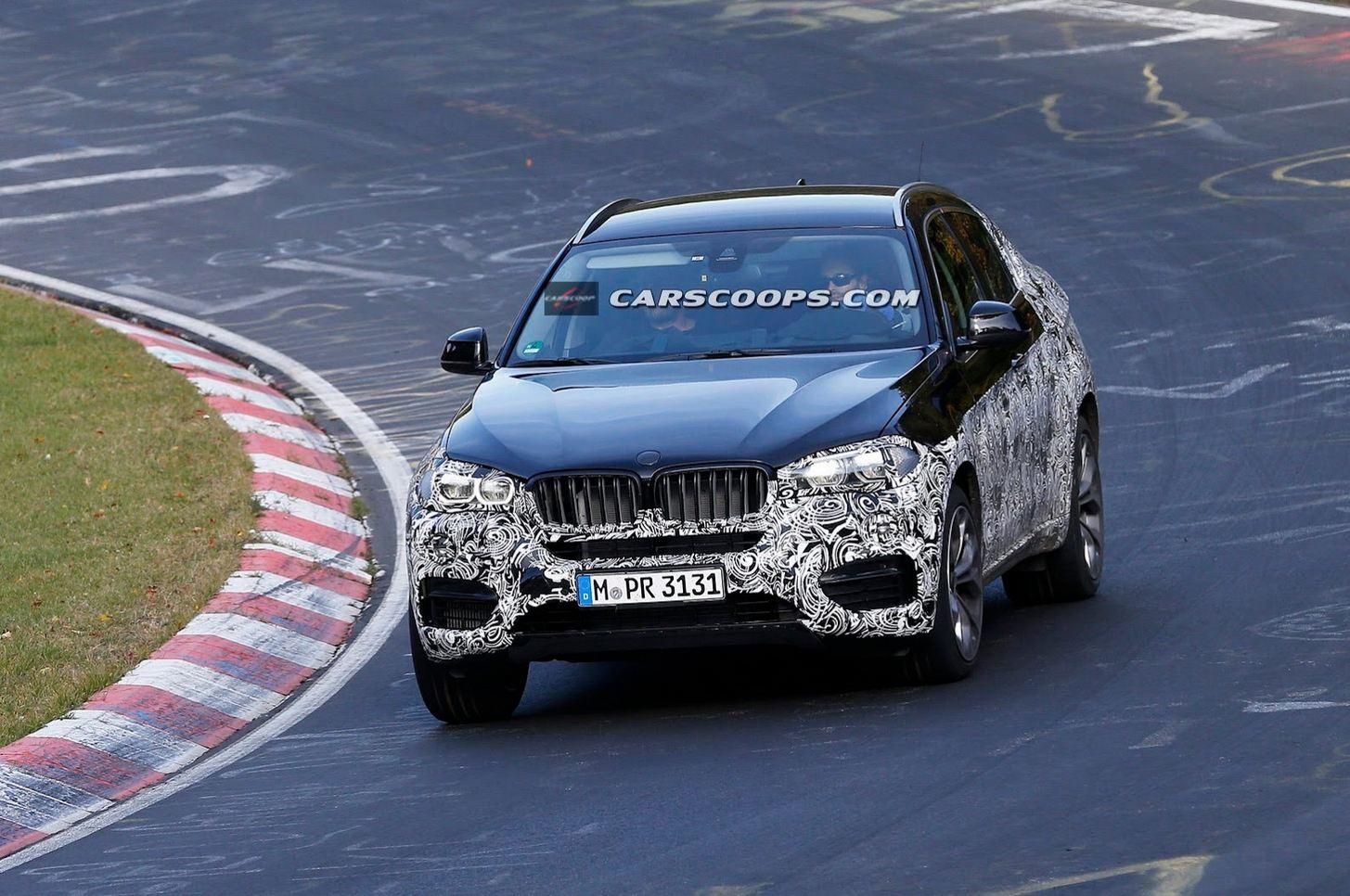2015 BMW X6 spied