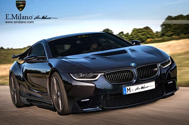 BMW i8 Rendering