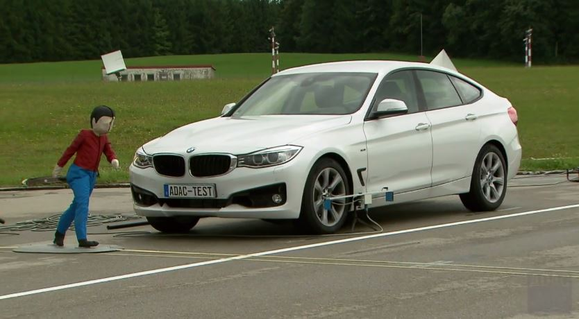 BMW Pedestrian Protection