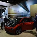 BMW i3 and i8 at LA Auto Show