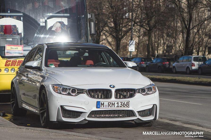 2014 BMW M3 prototype