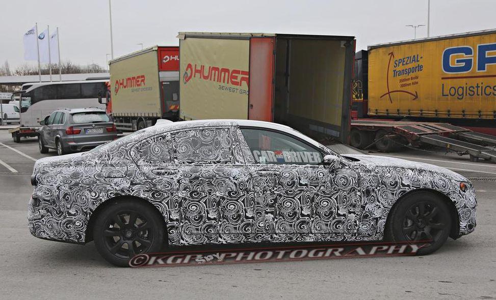 2015 BMW 7 Series spy