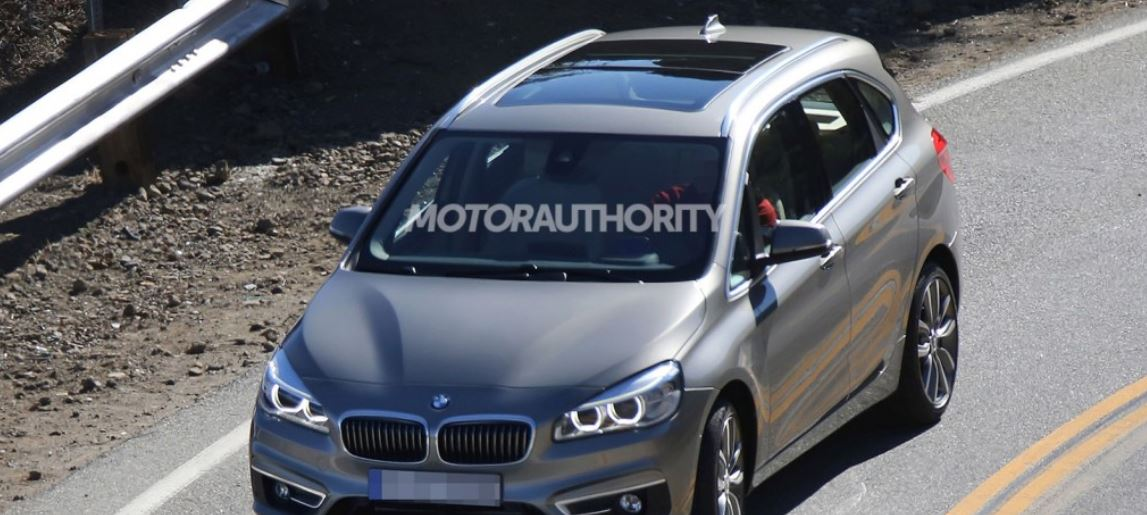 BMW FWD Active Tourer possibly the Next 2-Series