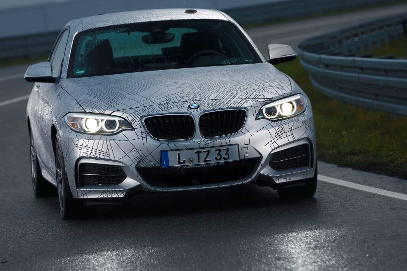Automated M235i Coupe Showcased at the 2014 CES