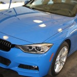 BMW F31 xDrive M-Sport Wagon in Individual Santorini Blue