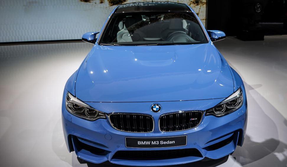 BMW M3 F80 Yas Marina Blue Finally Debuting at the 2014 Detroit Auto Show