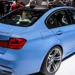 BMW M3 F80 Yas Marina Blue