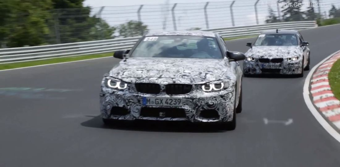 BMW M4 and Red Bull